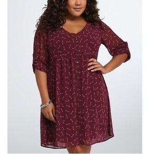 NWT Torrid Arrow Shirt Dress Size 4X